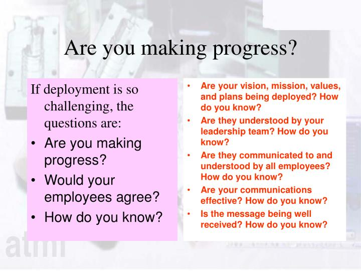If deployment is so challenging, the questions are: