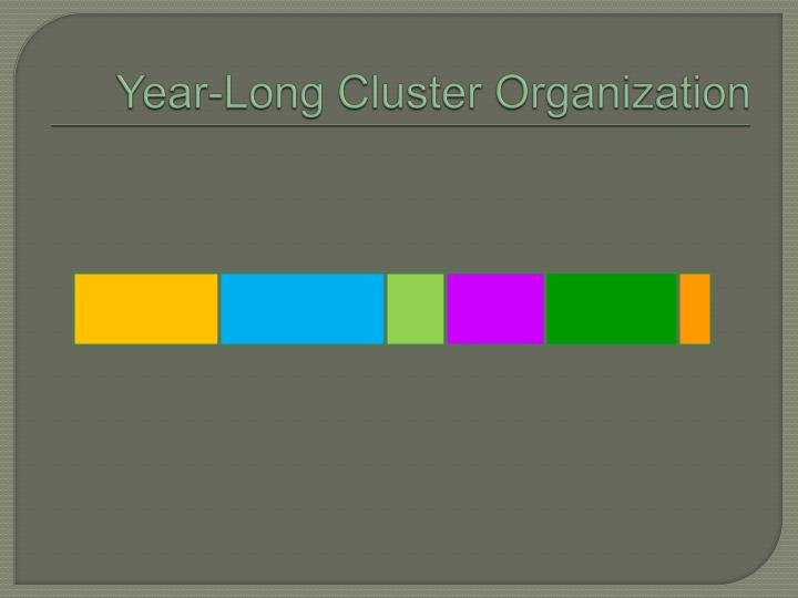 Year-Long Cluster Organization