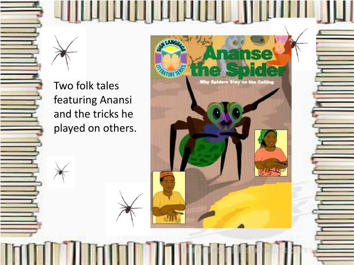 Two folk tales featuring