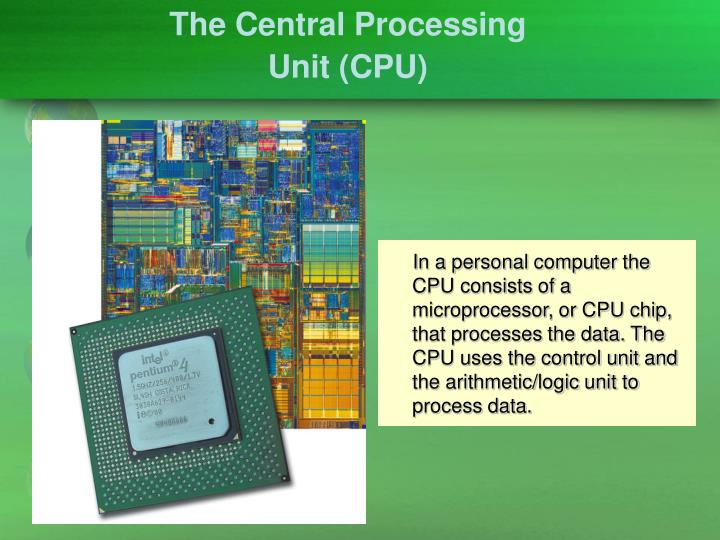 The Central Processing