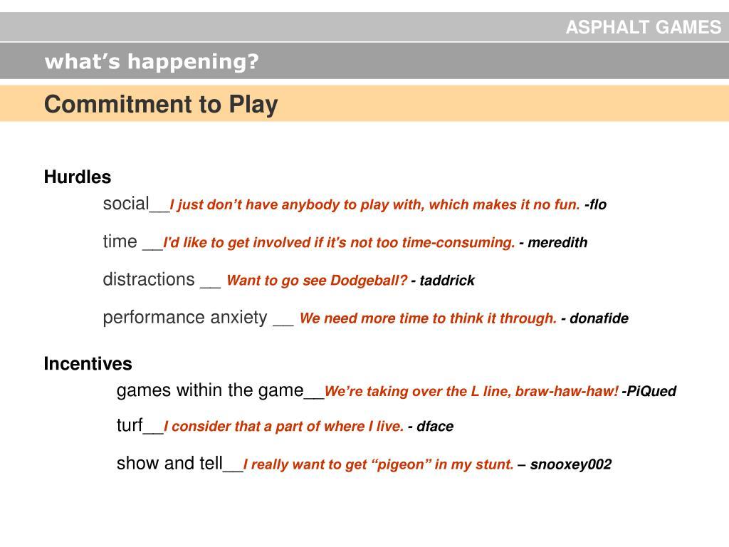 ASPHALT GAMES