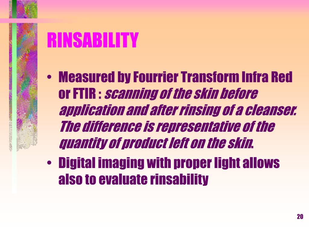 RINSABILITY