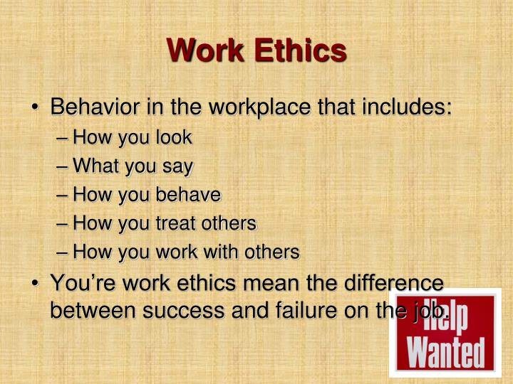 Work Ethics