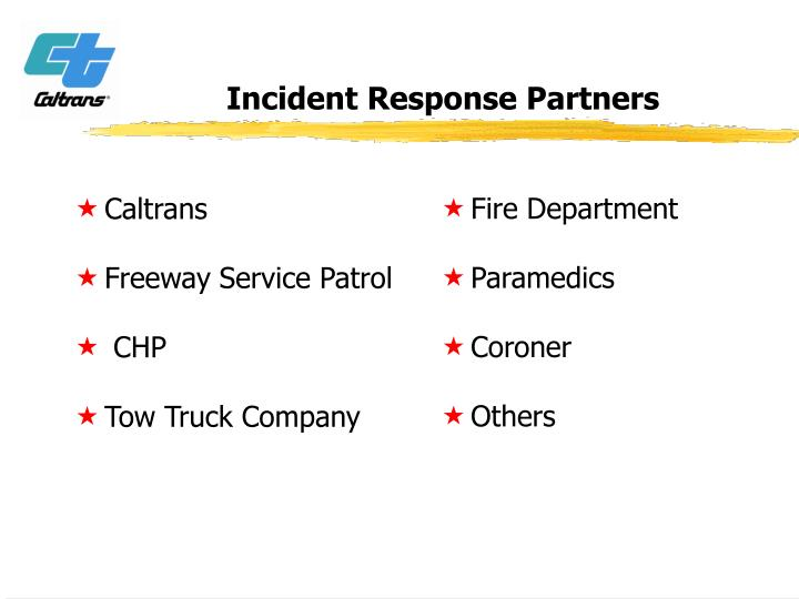 Incident Response Partners