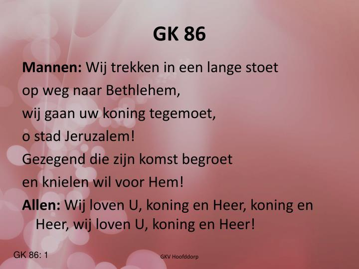 GK 86