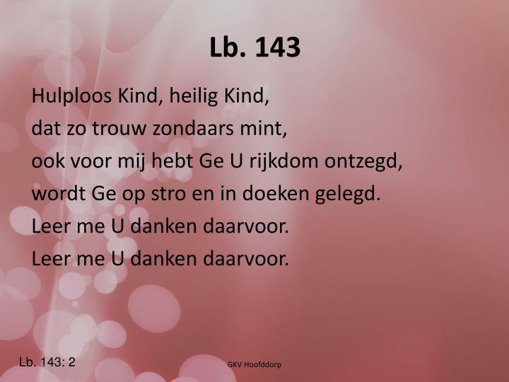 Lb. 143