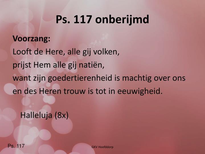 Ps. 117