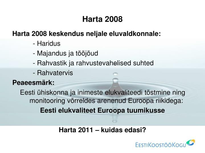 Harta 2008