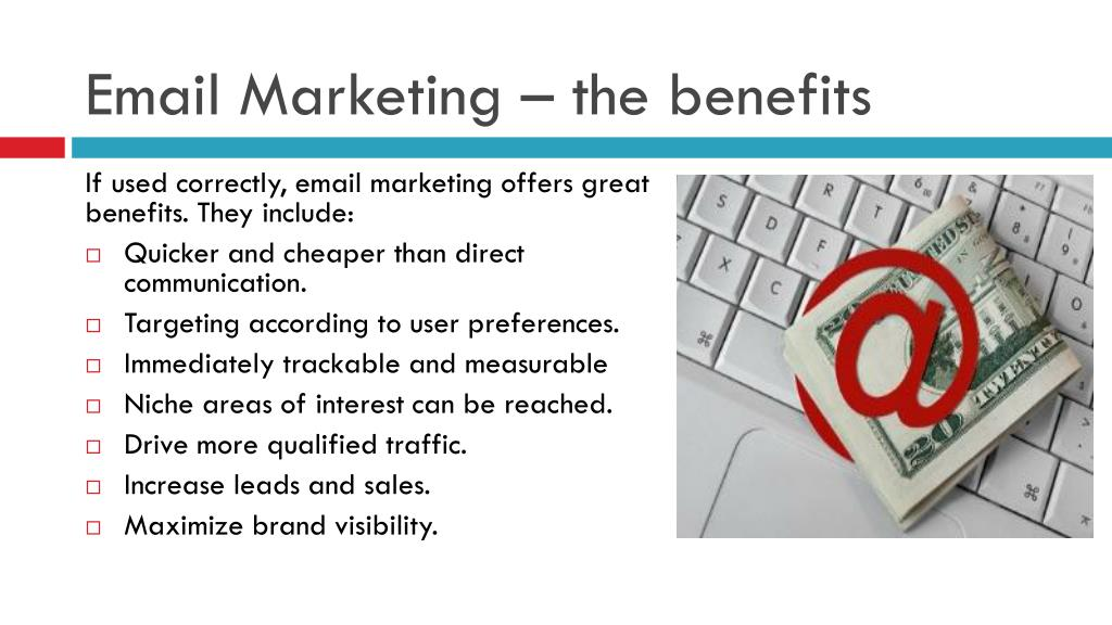Email Marketing – the benefits