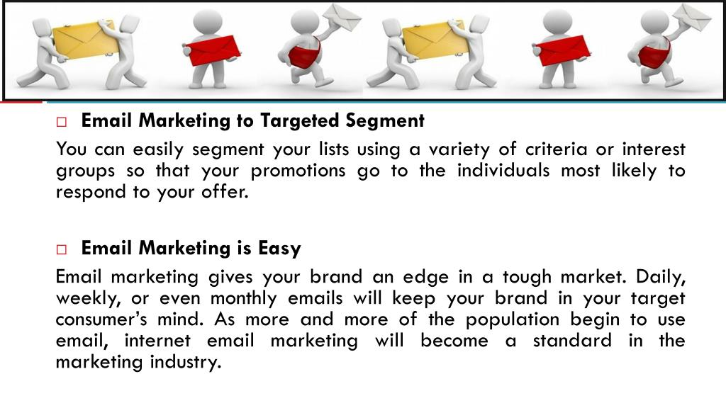 Email Marketing to Targeted Segment