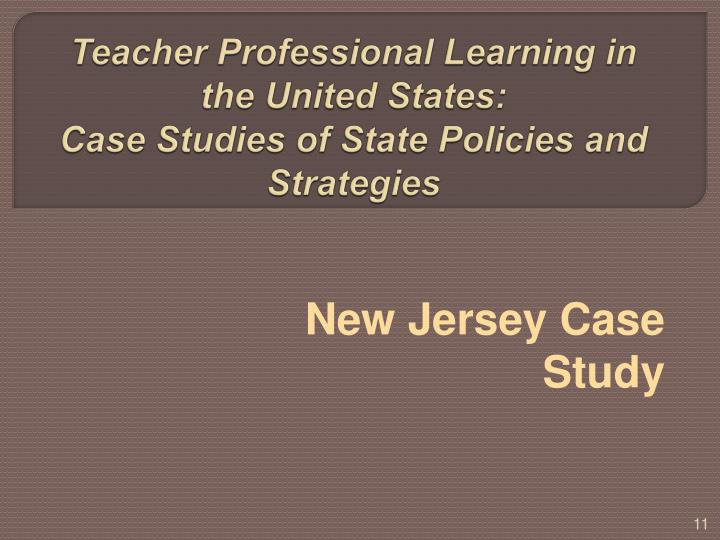 Teacher Professional Learning in the United States: