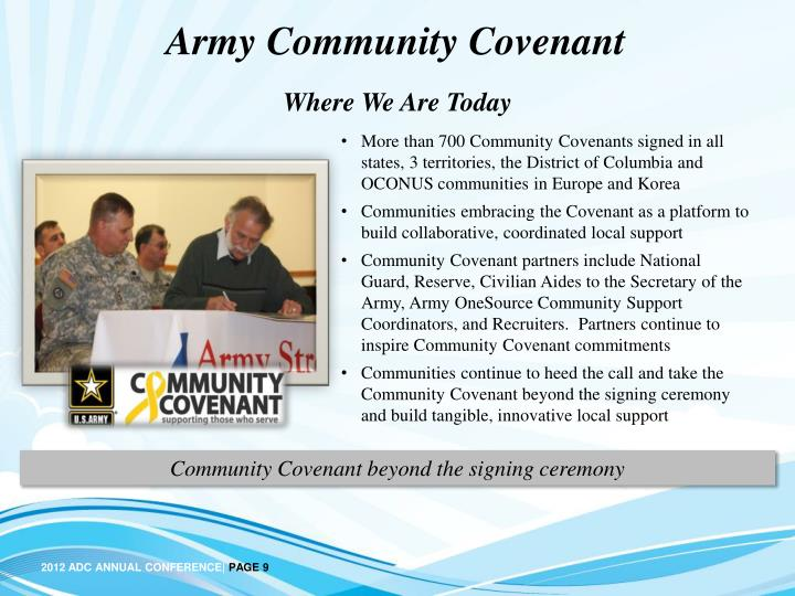 Army Community Covenant