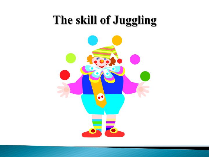 The skill of Juggling