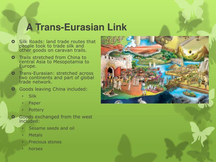 A Trans-Eurasian Link