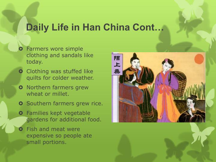 Daily Life in Han