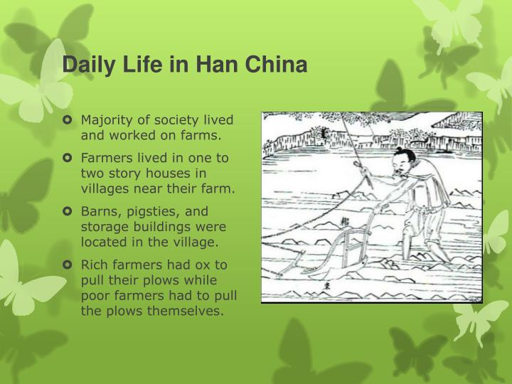 Daily Life in Han China