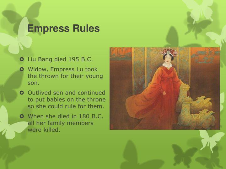 Empress Rules