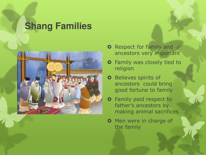 Shang Families