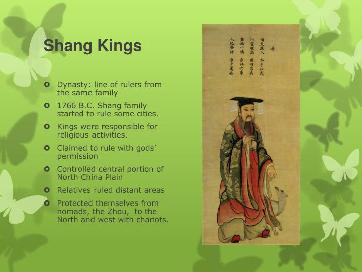 Shang Kings