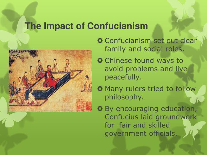 The Impact of Confucianism