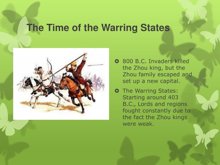 The Time of the Warring States