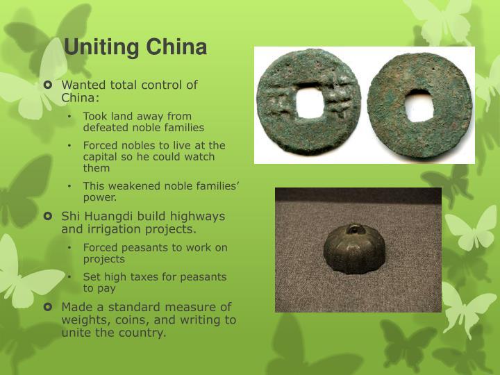 Uniting China