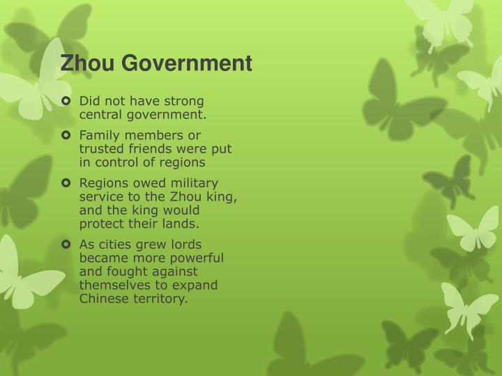 Zhou Government