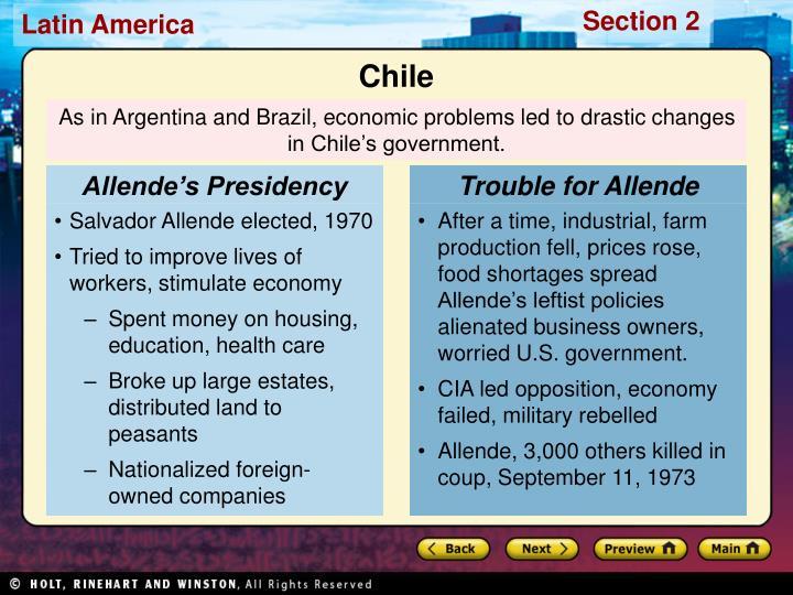 Allende's Presidency