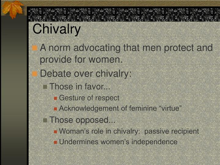 Chivalry