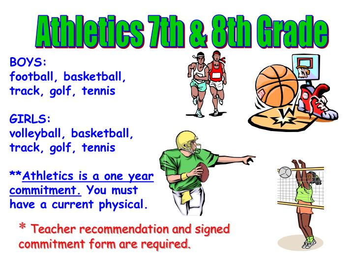 Athletics 7th & 8th Grade