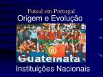 futsal em portugal