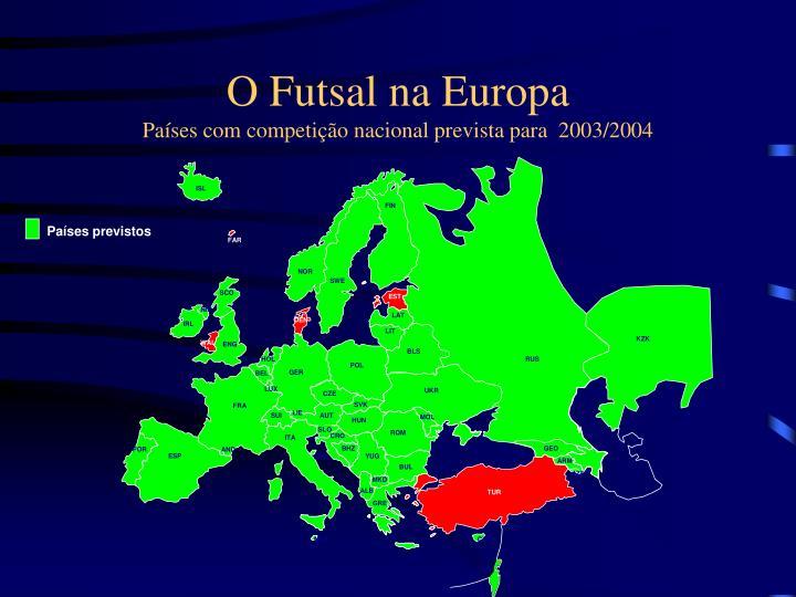 O Futsal na Europa