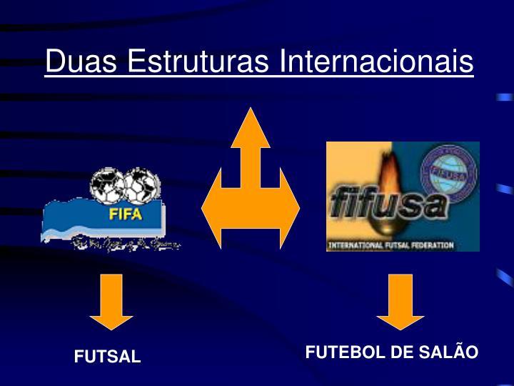Duas Estruturas Internacionais