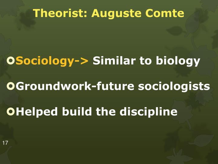 Theorist: