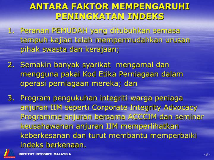 ANTARA FAKTOR MEMPENGARUHI