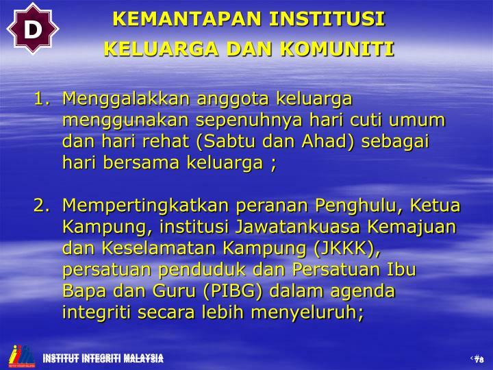 INSTITUT INTEGRITI MALAYSIA
