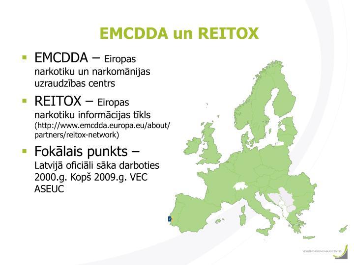 EMCDDA un REITOX
