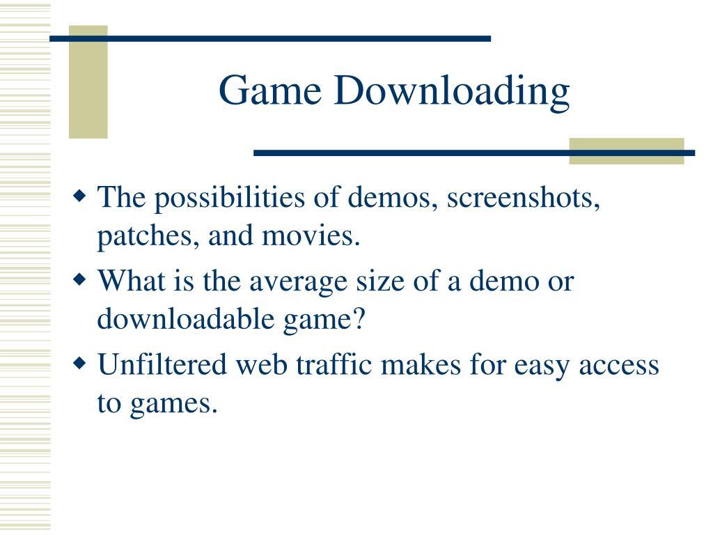 Game Downloading