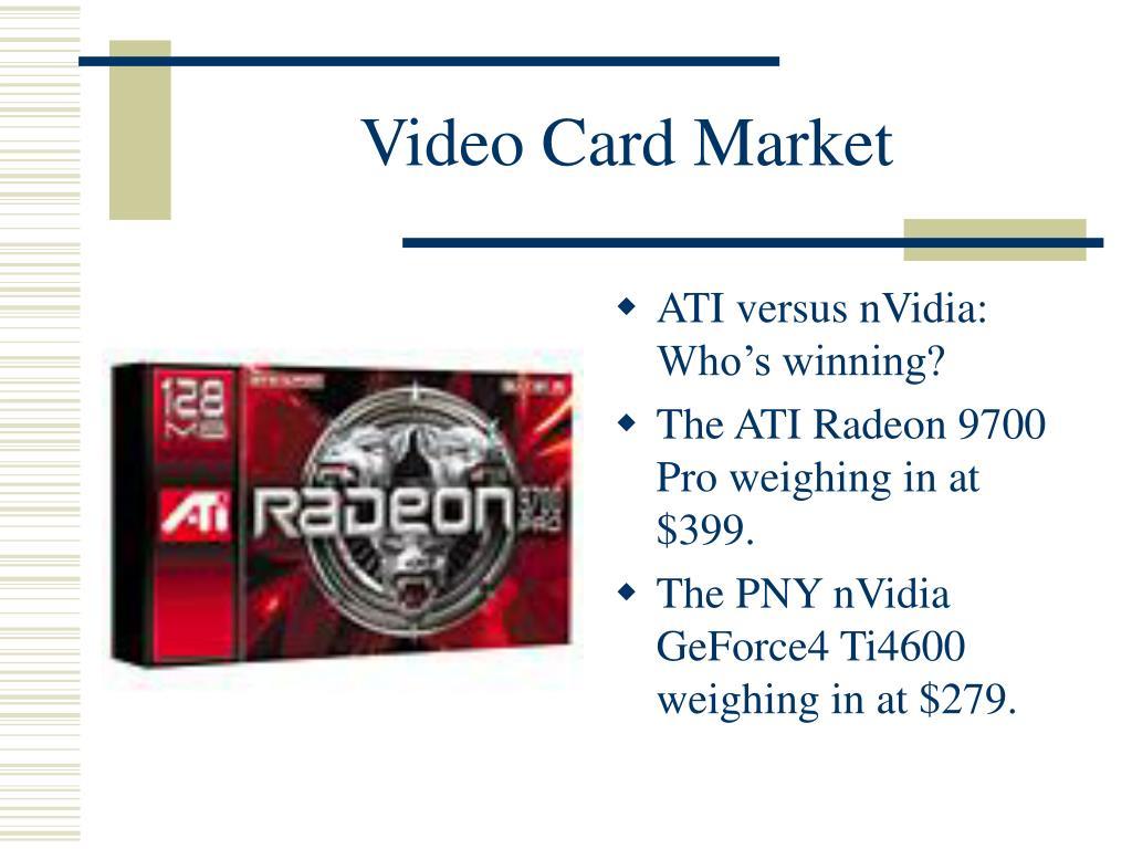 Video Card Market