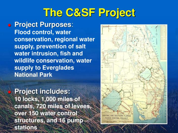The C&SF Project