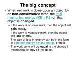 the big concept
