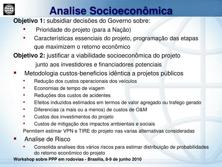 Analise Socioeconômica