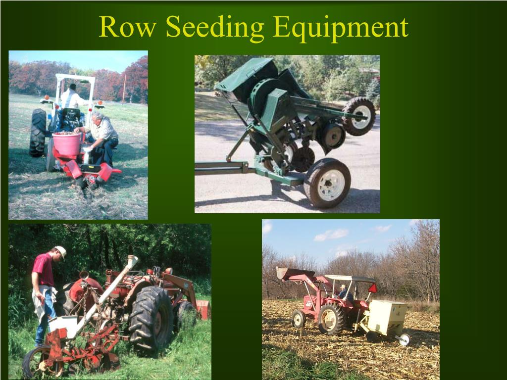 Row Seeding Equipment