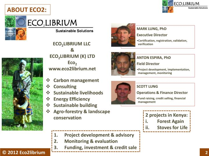 ABOUT ECO2: