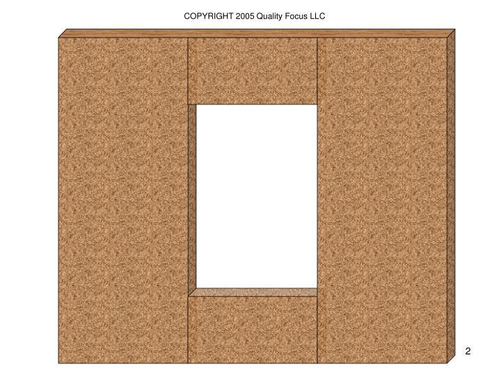 COPYRIGHT 2005 Quality Focus LLC