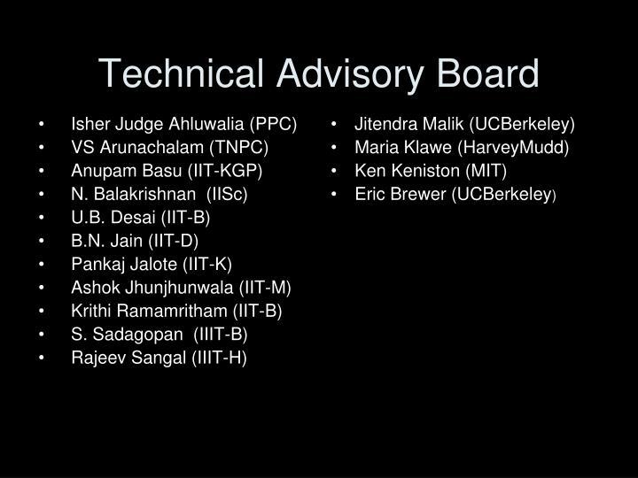 Technical Advisory Board