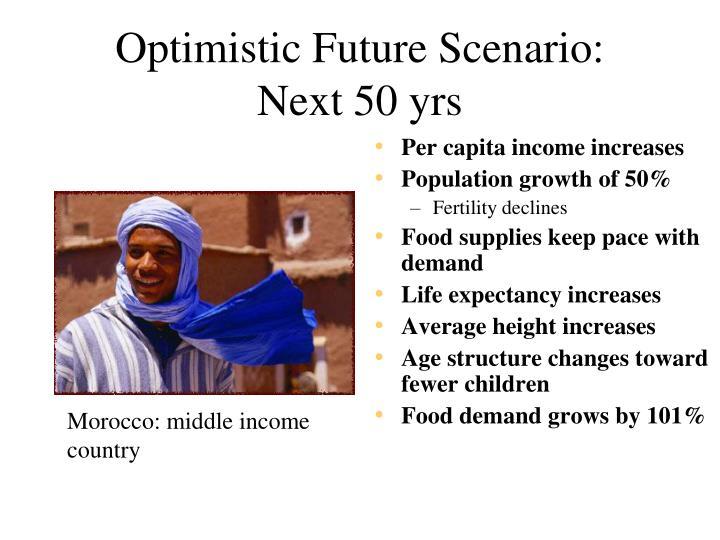 Optimistic Future Scenario:
