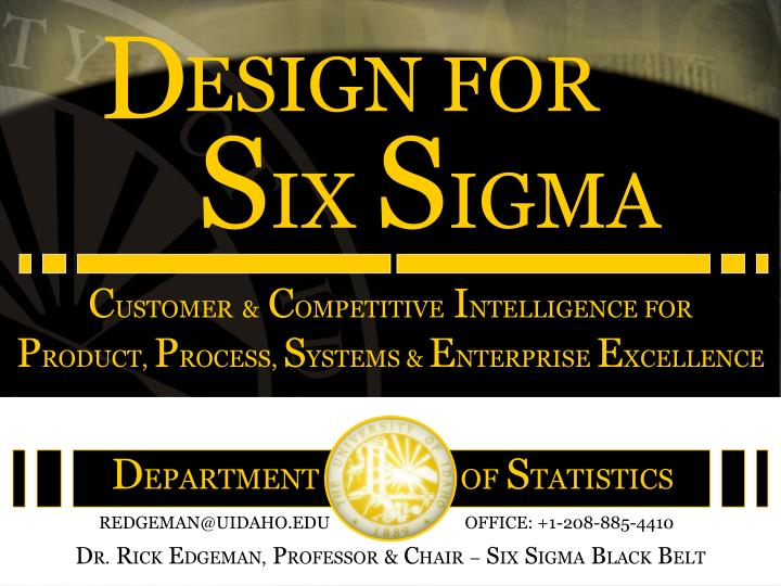 Customer competitive intelligence for product process systems enterprise excellence