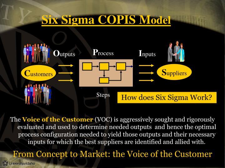 Six Sigma COPIS M
