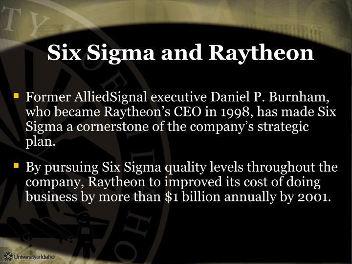 Six Sigma and Raytheon